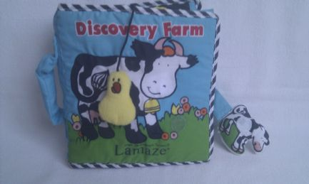 Adorable My 1st Lamaze 'Discovery Farm' Big Plush Bedtime Book